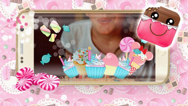 Candy Cute Photo Stickers apk screenshot