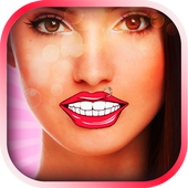 Funny Teeth & Mouth Photo App icon