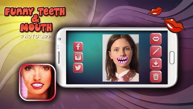 Funny Teeth & Mouth Photo App screenshot 2