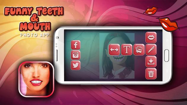 Funny Teeth & Mouth Photo App screenshot 3