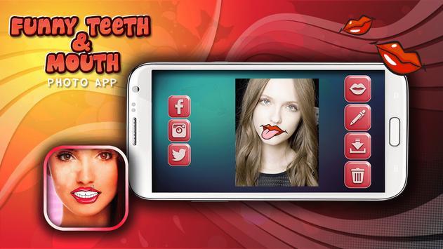 Funny Teeth & Mouth Photo App screenshot 9
