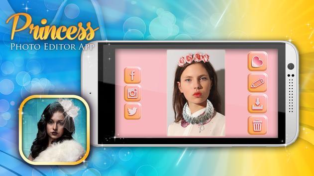 Princess Crown Camera App apk screenshot