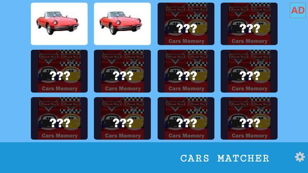 Cars Memory Challenge 004 screenshot 1