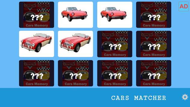 Cars Memory Challenge 004 screenshot 2