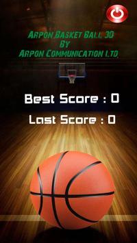 Arpon 3D Basketball screenshot 3