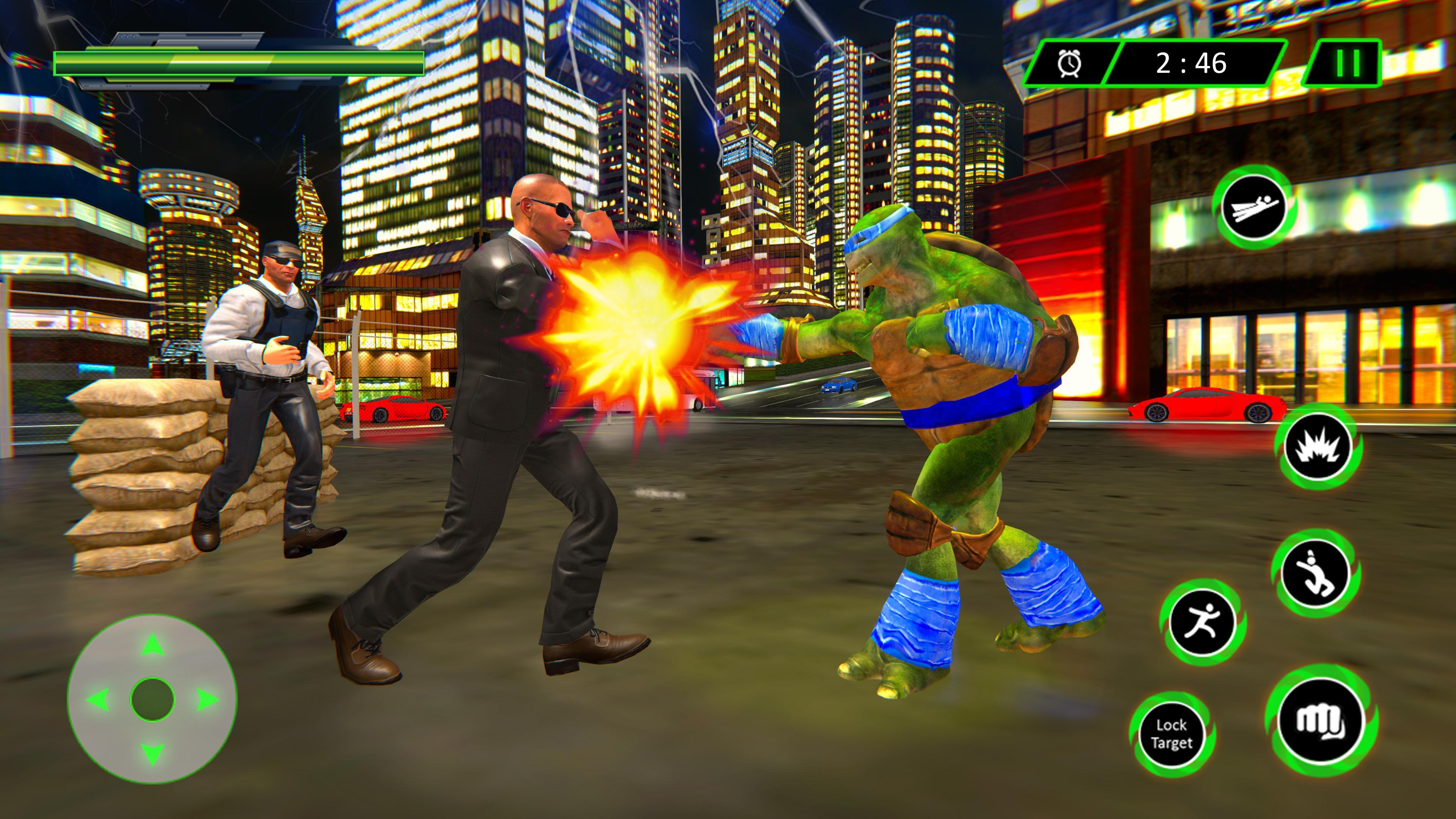 Superstar Ninja Turtle Fight Simulator Game 2018 for Android