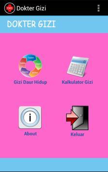 Dokter Gizi apk screenshot
