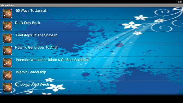 Abu Muslimah screenshot 1