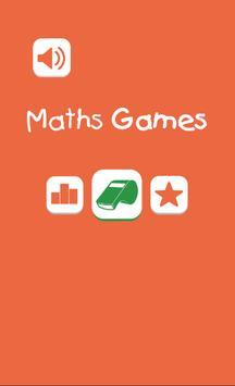 Maths Games Kids poster
