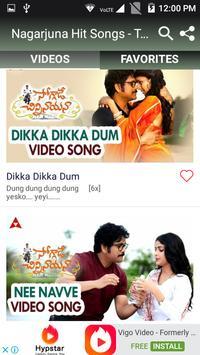 Nagarjuna Hit Songs - Telugu New Songs screenshot 1