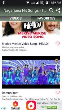 Nagarjuna Hit Songs - Telugu New Songs screenshot 2