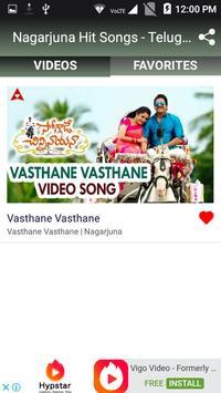 Nagarjuna Hit Songs - Telugu New Songs screenshot 4