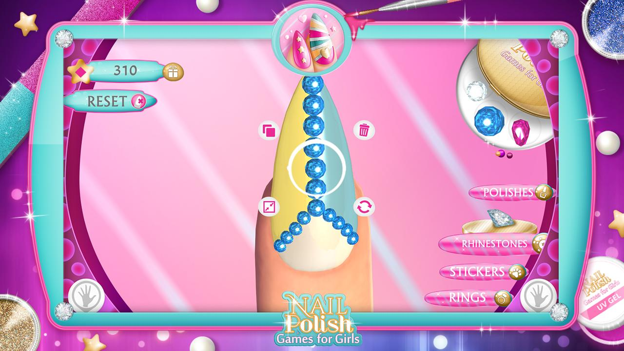 Nail Polish Games For Girls for Android - APK Download