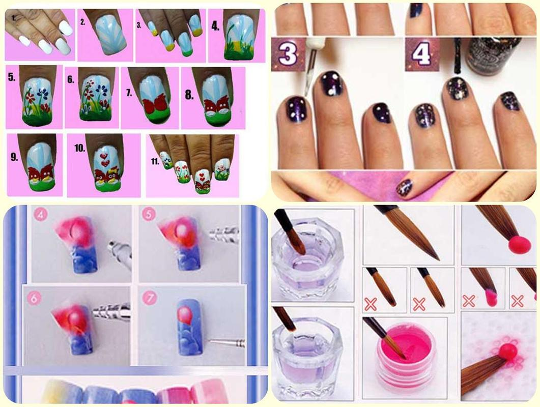 Nail Art Step By Step Design APK Download - Free Lifestyle APP for ...