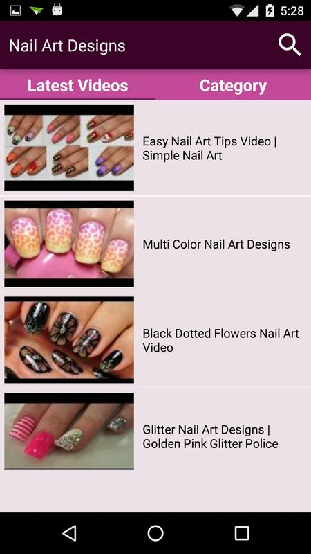 Nail Art Videos Latest Design Ideas Step By Step For Android Apk
