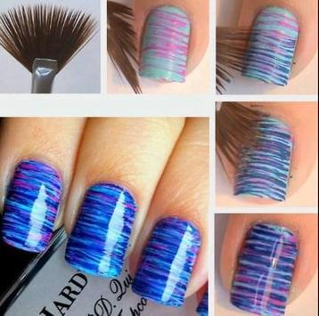 Nail Design Step by step poster