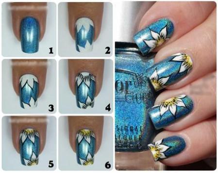 Nail Design Step by step screenshot 10