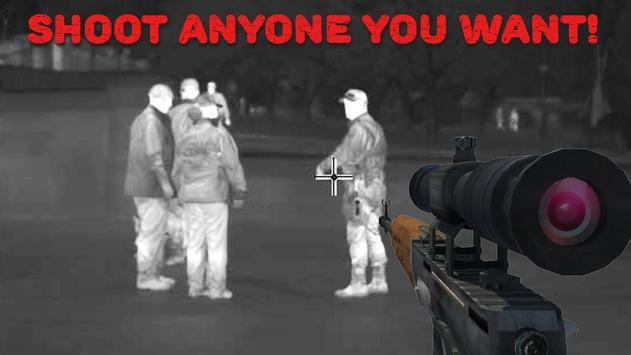 Sniper Thermal Vision: FPS Shooter Camera screenshot 5