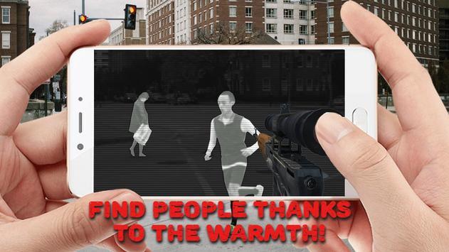 Sniper Thermal Vision: FPS Shooter Camera screenshot 3