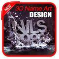 3D Name Art Design