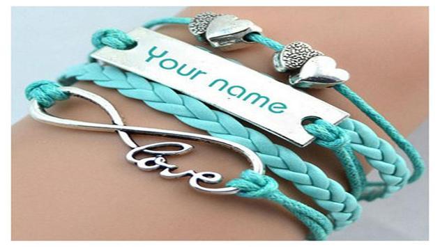 Name Bracelet Ideas apk screenshot