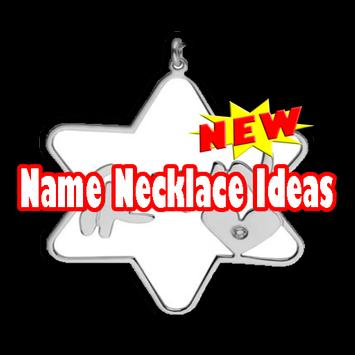 Name Necklace Ideas poster