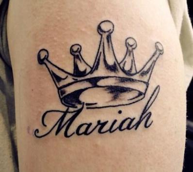 Name Tattoo poster