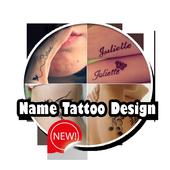 Name Tattoo Design icon