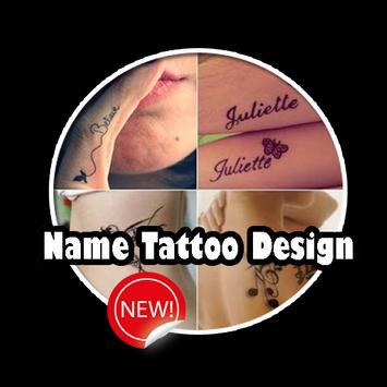 Name Tattoo Design poster