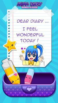 Anime Diary Custom Planner poster