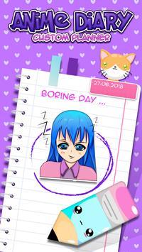 Anime Diary Custom Planner screenshot 1