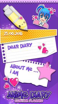 Anime Diary Custom Planner screenshot 3
