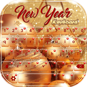 New Year Keyboard Themes icon