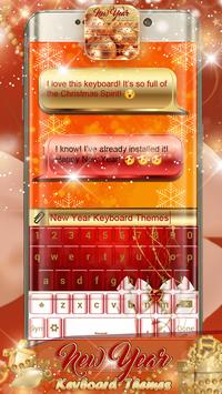New Year Keyboard Themes poster