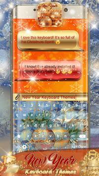 New Year Keyboard Themes screenshot 5