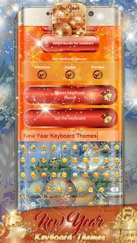 New Year Keyboard Themes screenshot 6