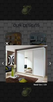 Black Built In Wardrobe Design screenshot 2