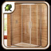 Corner Shower Doors Design icon