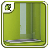 Folding Shower Screens Design icon