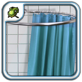 Shower Curtains Rods Design icon