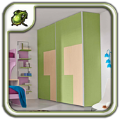 Sliding Door Corner Wardrobe icon
