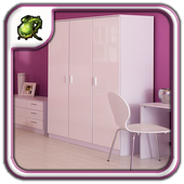 Wardrobe Storage Cabinet icon