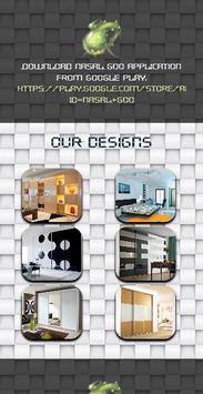 Wardrobe Storage Units Design screenshot 4