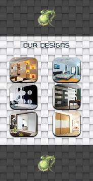 Wardrobe Storage Units Design poster