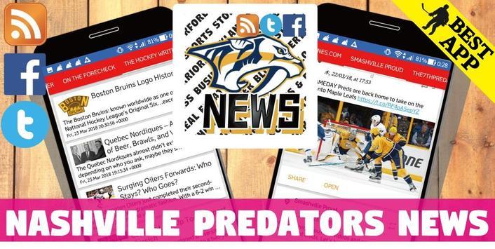 Nashville Predators All News poster