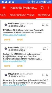 Nashville Predators All News screenshot 2