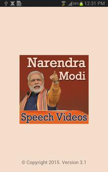 Narendra Modi Ke Bhashan (Latest Speech Videos) poster