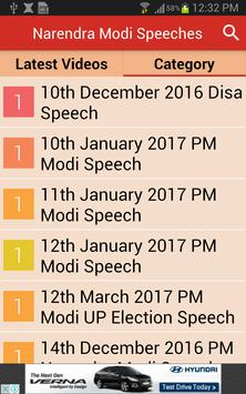 Narendra Modi Ke Bhashan (Latest Speech Videos) apk screenshot
