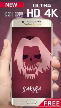 Naruto Skulls Wallpaper Ultra HD 4K poster
