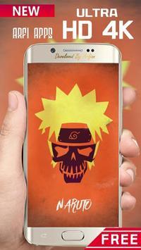 Naruto Skulls Wallpaper Ultra HD 4K screenshot 2
